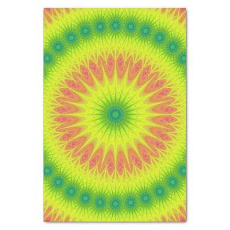 Floral sun tissue paper