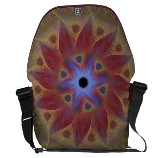 Floral Sundial Women's Messenger Bag