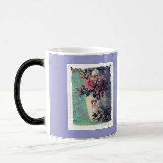 floral surprise morphing mug
