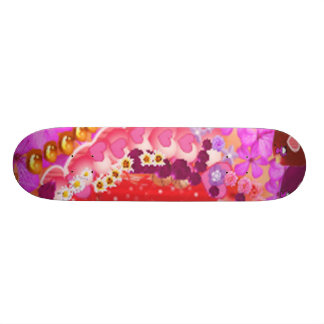 Floral  SWEET Heart 2 Skate Boards