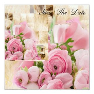 Floral- Sweet Innocence 13 Cm X 13 Cm Square Invitation Card