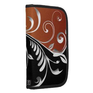 Floral Swirl Smartphone Rickshaw Folio Planner