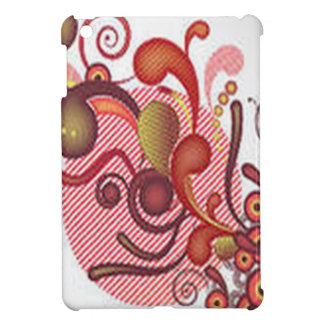 Floral swirls design iPad mini cases