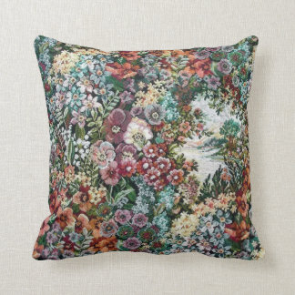 Floral Tapestry Cushion