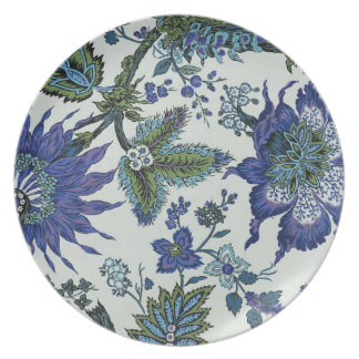Floral Tapestry Museum LA Melamine Plate