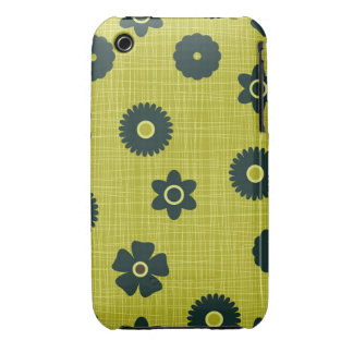 floral texture and flowers iphone 3 and 3g case Case-Mate iPhone 3 cases