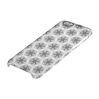 Floral texture clear iPhone 6/6S case