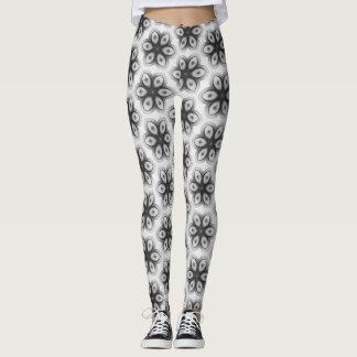 Floral texture leggings