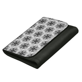 Floral texture wallet for women