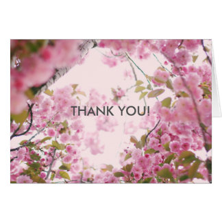 Floral Thank You Note Note Card