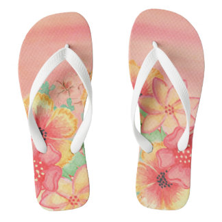 Floral Thongs