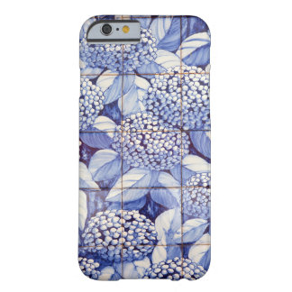 Floral tiles barely there iPhone 6 case