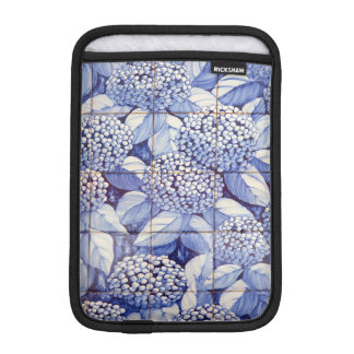 Floral tiles iPad mini sleeve