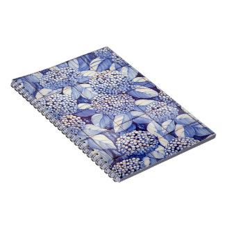 Floral tiles notebook