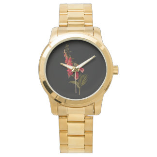 Floral time watch