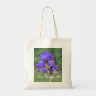Floral Tote Bag Tall Bearded Iris