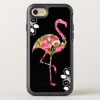 Floral Tropical Flamingo OtterBox Symmetry iPhone 8/7 Case
