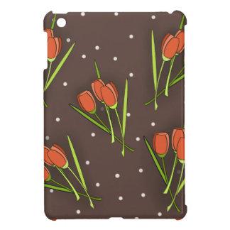 Floral Tulip Design iPad Mini Cover