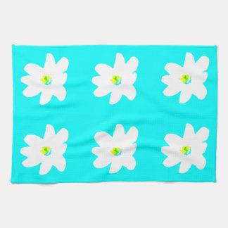 Floral Turquoise Sunshine 4Ellen Towels