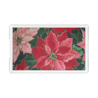 Floral Vanity Tray