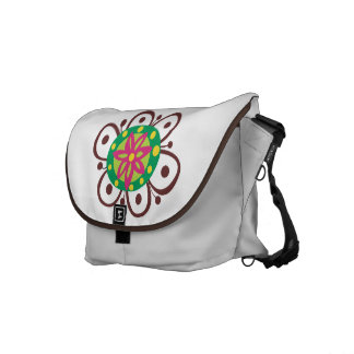 Floral Vector Courier Bags