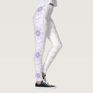 floral victorian lace. leggings