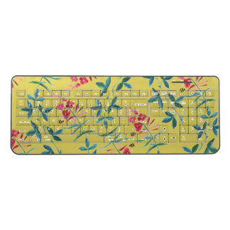 Floral Vines by Zala02Creations Wireless Keyboard