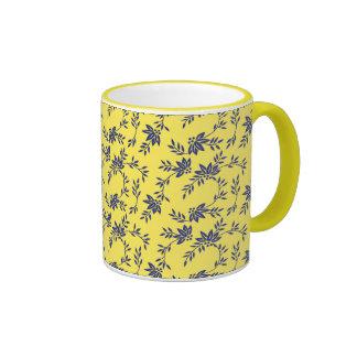 Floral Vines Coffee Mug