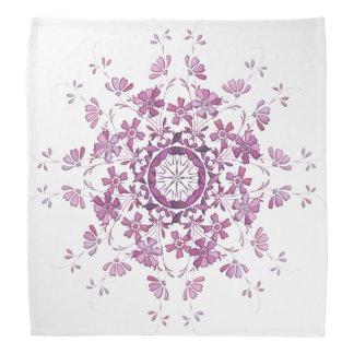 floral vintage element bandana