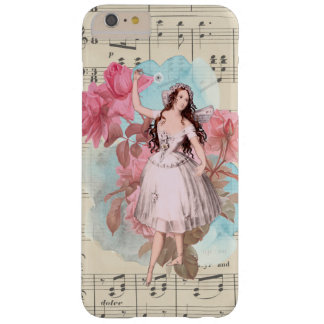 Floral Vintage Fairy Music Ballerina Dancer Barely There iPhone 6 Plus Case