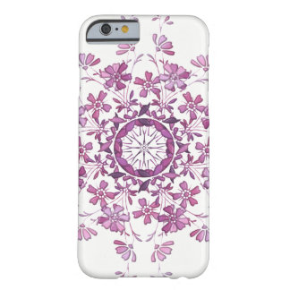 floral vintage purple mandala barely there iPhone 6 case