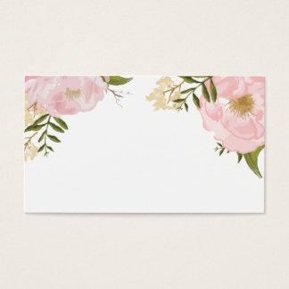 Floral Vintage Spring Wedding Blank Custom Card