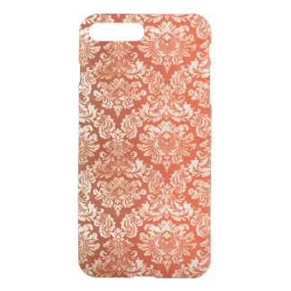 Floral vintage wallpaper background iPhone 7 plus case