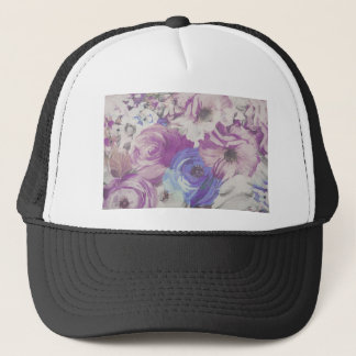 Floral Vintage Wallpaper Pattern Trucker Hat