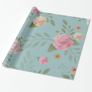 Floral Vintage Wrapping Paper
