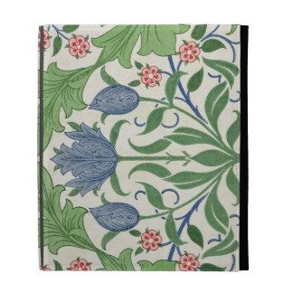 Floral wallpaper design iPad case