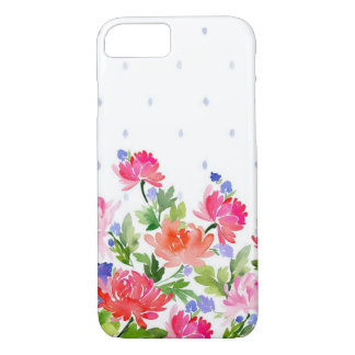 Floral Watercolor Apple iPhone 7/8 Case