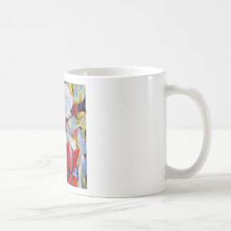 Floral watercolour arrangement coffee mug