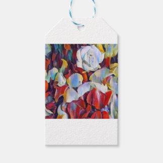 Floral watercolour arrangement gift tags