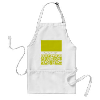 Floral Wedding/Anniversary Apron Any Color