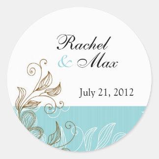 Floral Wedding Label