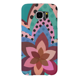 Floral wildness samsung galaxy s6 cases