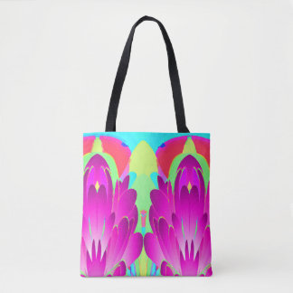 Floral Wing Tropical Paradise Bag