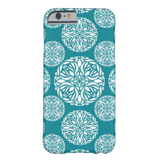 Floral winter snowflake barely there iPhone 6 case