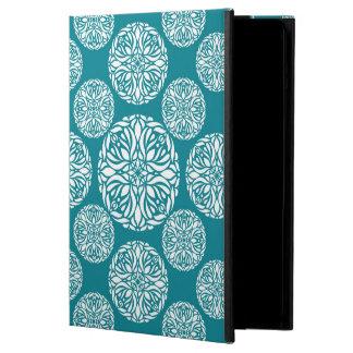 Floral winter snowflake iPad air case