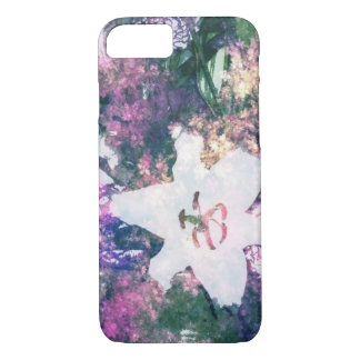 floral with lily iPhone 7 case