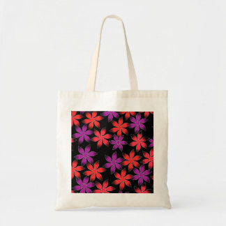 Floral world tote budget tote bag
