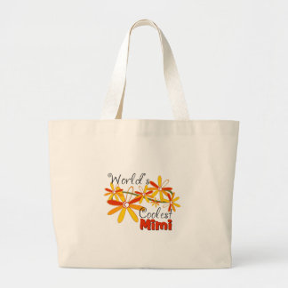 Floral World's Coolest Mimi Jumbo Tote Bag