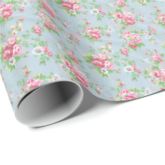 Floral Wrapping Paper-Glossy