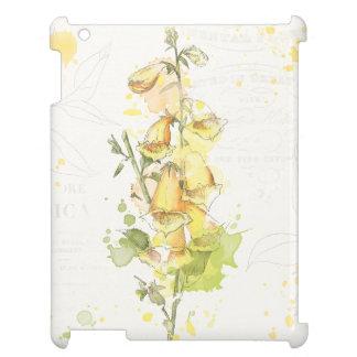 Floral Yellow Splash iPad Covers